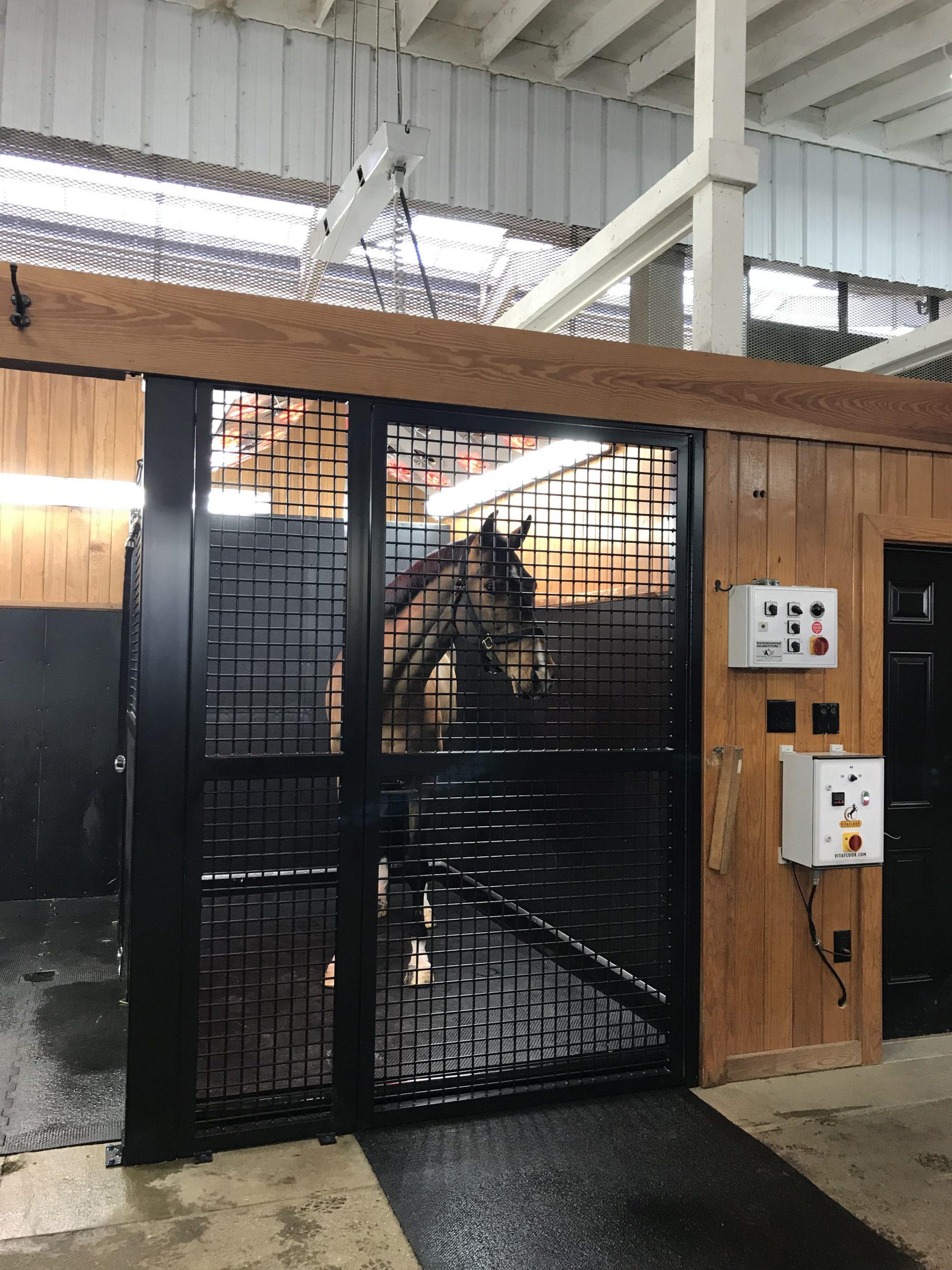 vitafloor horse enclosure