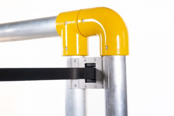 aluminum side bar system with safety click system