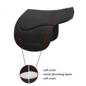 Sedelogic Orthopedic Western Saddle Pad