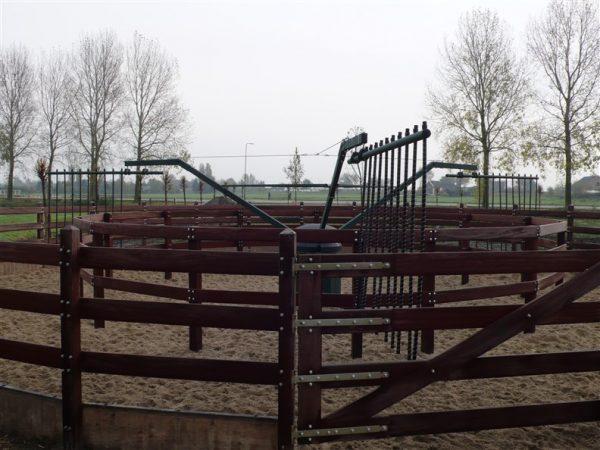 Hot Walker for Professional Horse Exerciser
