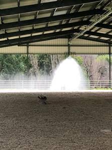 Q-line® Rain Train Arena Irrigation Systems