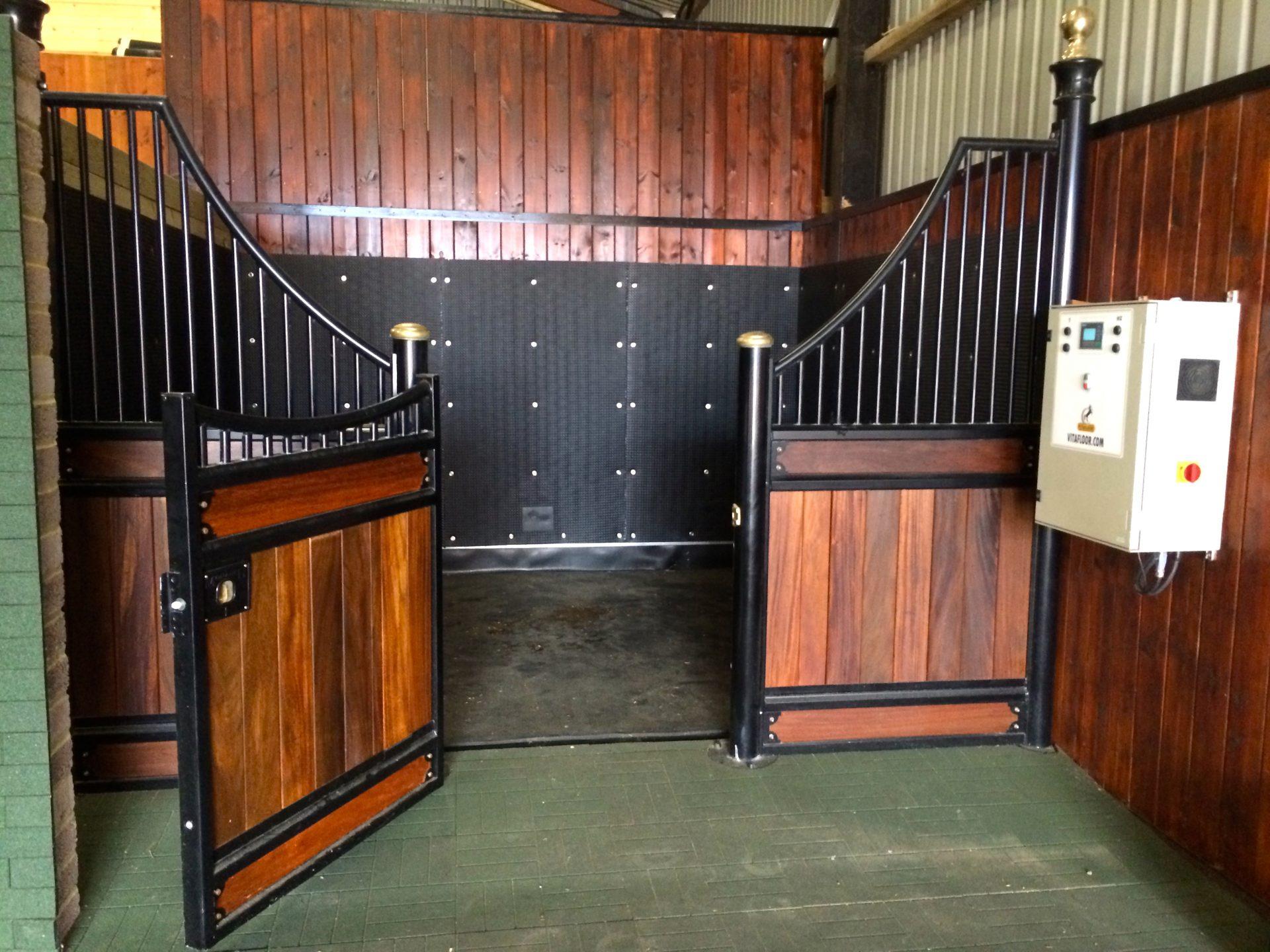equine vibration therapy system horse vibrating platform